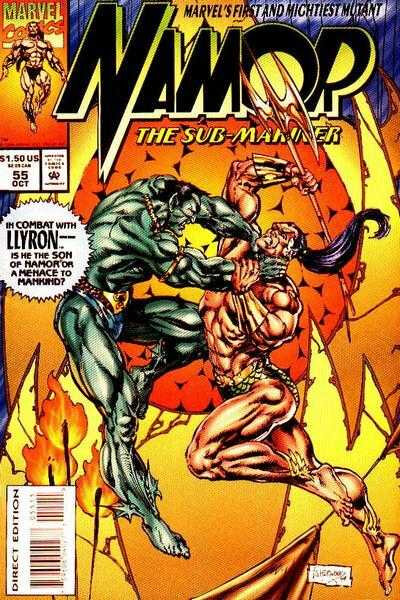 namor the sub-marine 1990 55