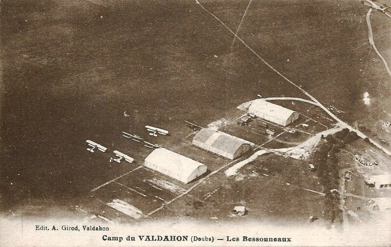 CPA Valdahon Camp d'aviation des Bessonneaux 1