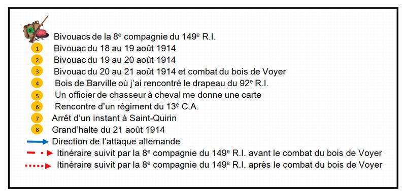 Legende_plan_2_G_de_Chomereau_de_Saint_Andre_21_aout_1914