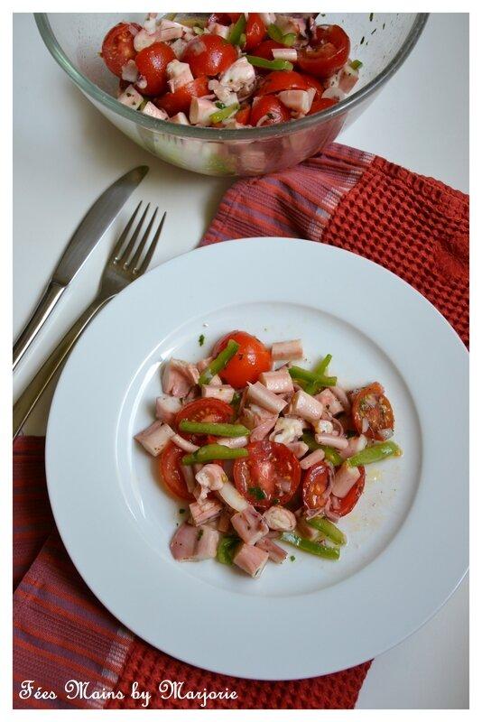 Salade de poulpe au citron