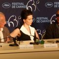 Juliette Binoche et Abbas Kiarostami
