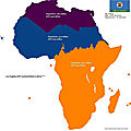 Los Angeles's GDP fitted into Africa
