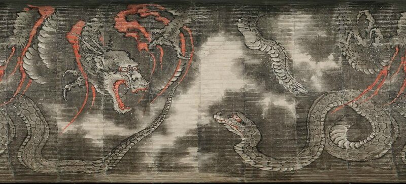 Hokusai Dragon 03