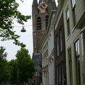 Delft - Vieille église (à la tour penchée)