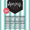 La spring week by sew&laine...