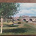 Toulouse - pont neuf - jardins du cours Dillon