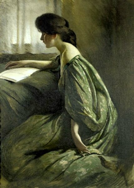 John White Alexander A quiet hour 1901