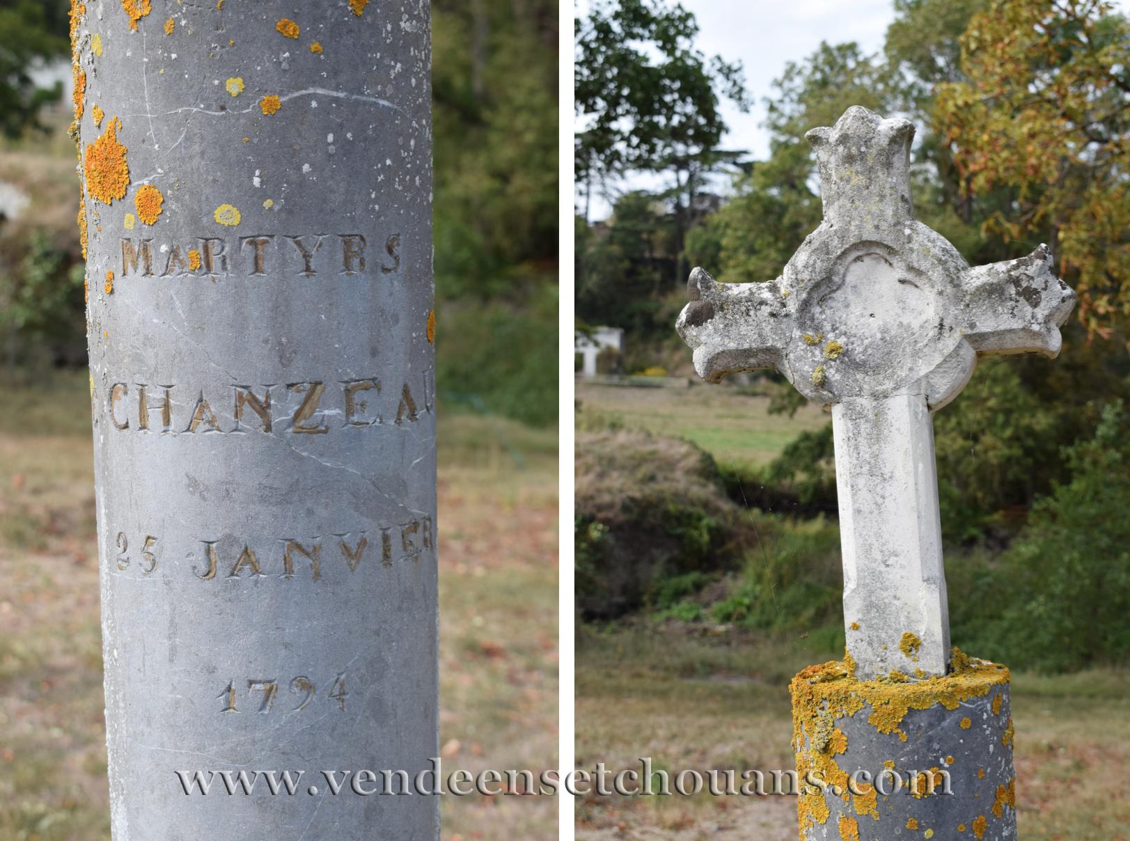 Un souvenir des Colonnes infernales à Chanzeaux