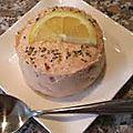 Mousse de saumon ou de thon