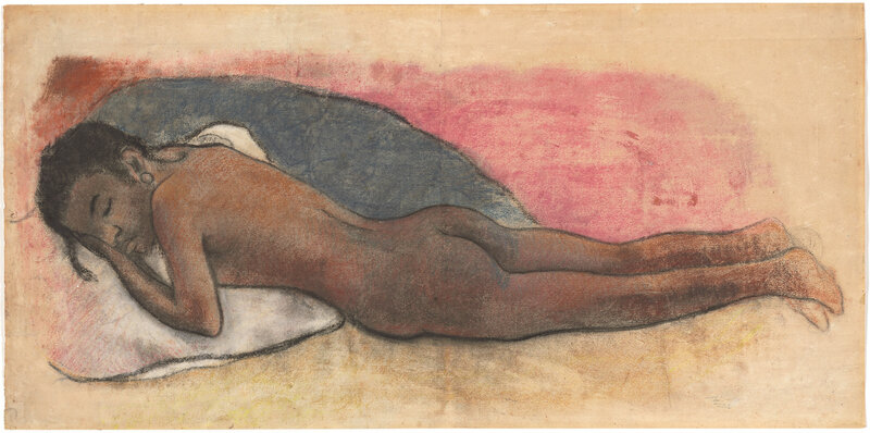 Paul_Gauguin_-_Reclining_Nude_-_NGA_1990