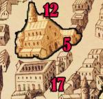 17 Poitiers Palais des comtes de Poitiers avec sa tour Maubergeon