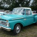 FORD F100 Custom Cab Twin I Beam Stepside 1966 Ohnenheim (3)