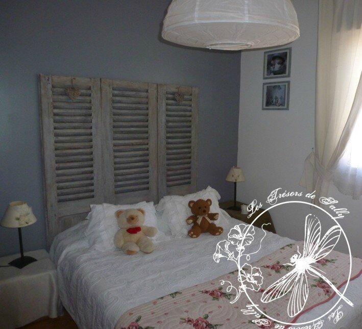 tete de lit volets