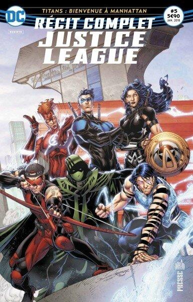 récit complet justice league 05 titans