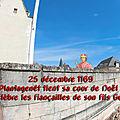 25 décembre 1169 : henri ii plantagenêt tient sa cour de noël à nantes où il célèbre les fiançailles de son fils geoffroy ii