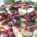 Salade estivale aux petits légumes rôtis / letnia sałatka z małymi pieczonymi warzywami