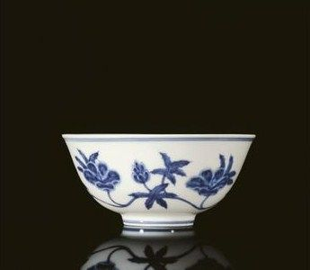 A superb blue and white palace bowl, mark and period of Chenghua. photo: Christie's Images Ltd 2009