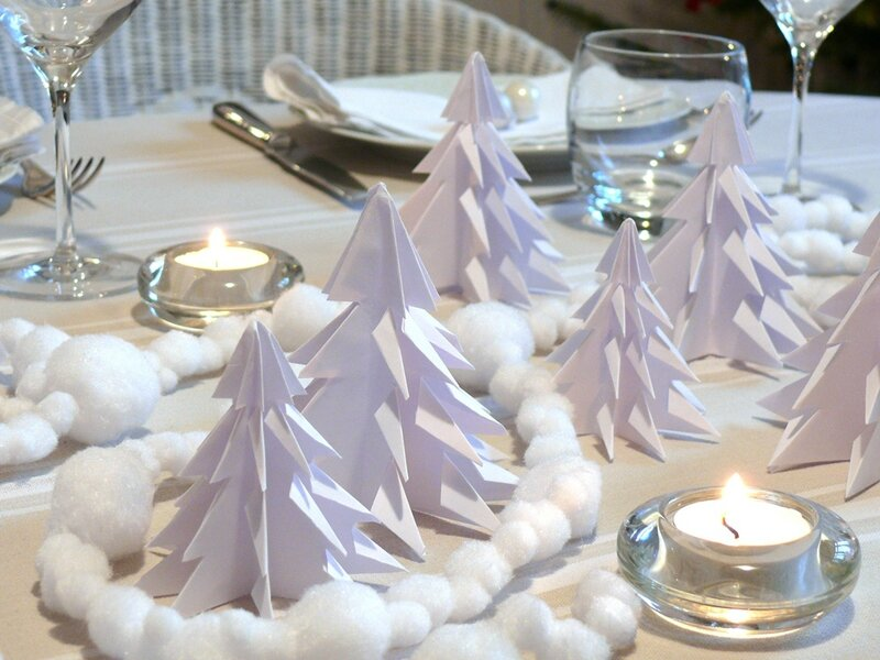 D co de no l quatre id es de derni re minute faire soi - Decoration de noel pour table a faire soi meme ...