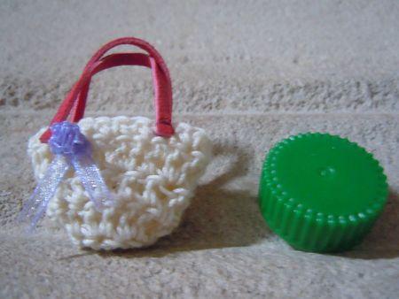 Mini sac crochet