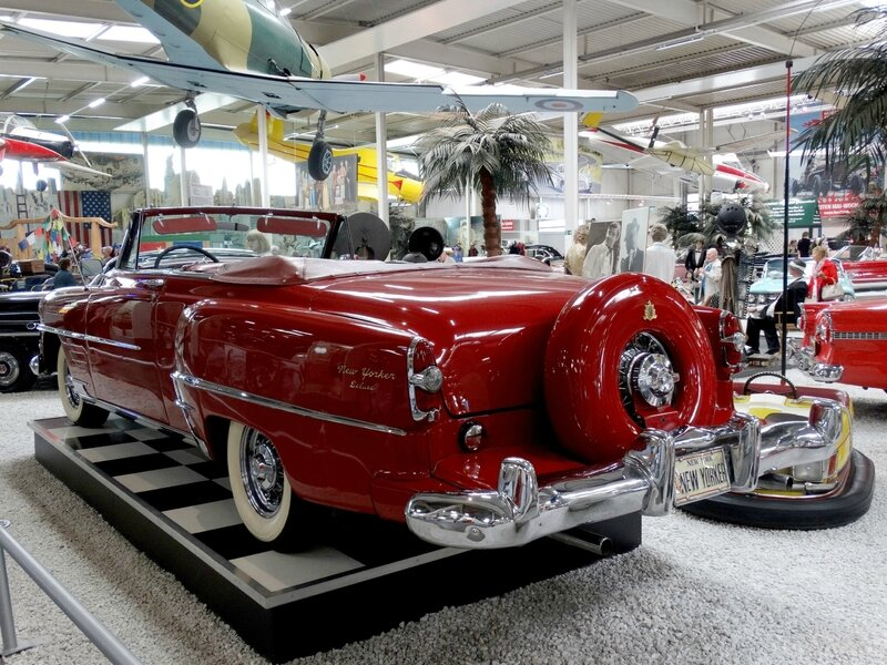CHRYSLER New Yorker DeLuxe 2door convertible 1954 Sinsheim (2)