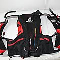 Sac a dos salomon advanced skin s-lab 12 set