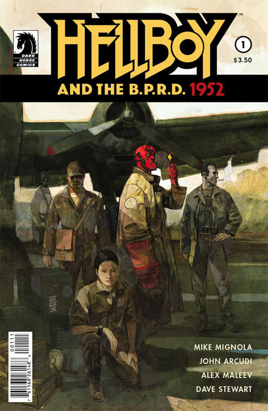 dark horse hellboy and the BPRD 1952 01