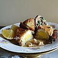 dolma aadam bel batata - dolma écrasé pommes de terre farcie aux œufs durs