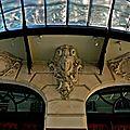 Détail de la façade du Louvre.