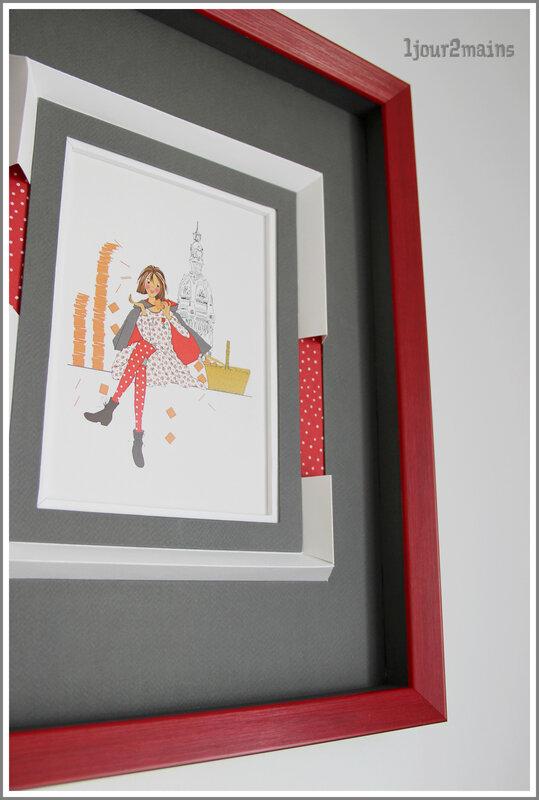 cadre rouge boitage petites nénettes