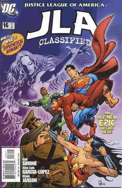 JLA classified 16