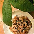 Curry coco-crevettes