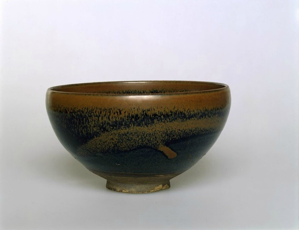 Tea Bowl with Brown Hare's-Fur Markings, Jin dynasty, probably 12th century
