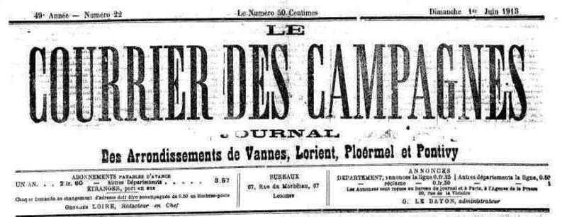 Presse Courrier des Campagnes 1913_1