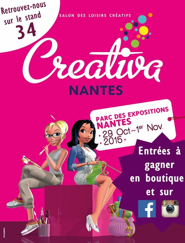 CREATIVA affiche entrees a gagner