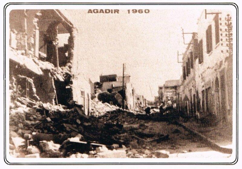 CPA Agadir 1960 Tremblement de terre b