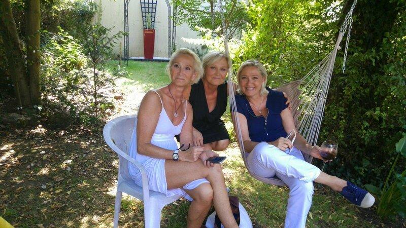 Marie-Caroline Le Pen et son époux reviennent dans le ...