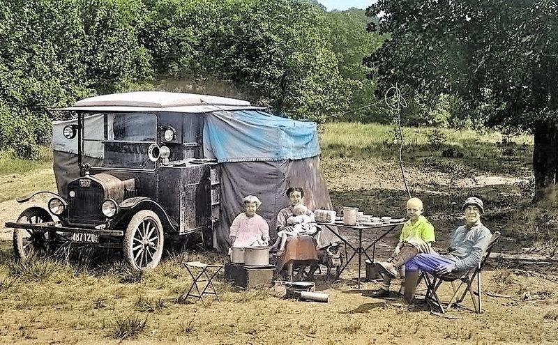 Camping autrefois