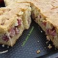 Cake jambon brousse pistaches j'ai besoin de :