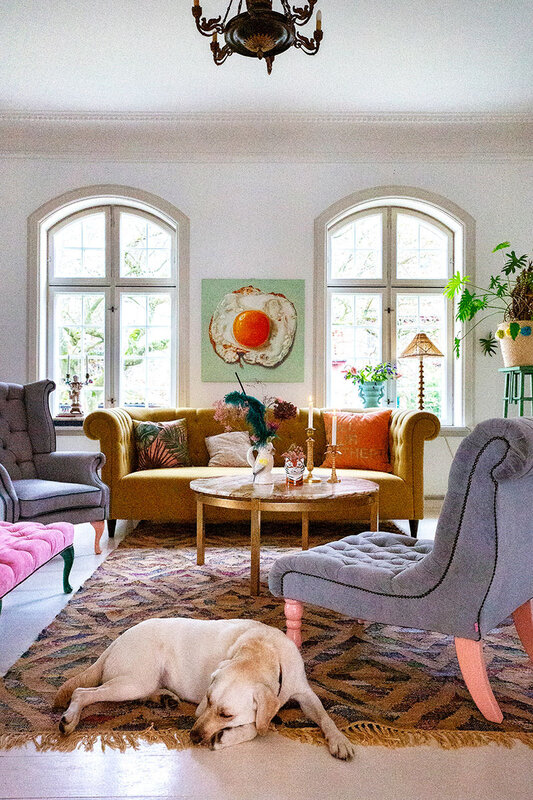 Colorful home in Sweden photos by Lisbet Spörndly (7)