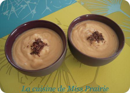 Crème poire-spéculoos