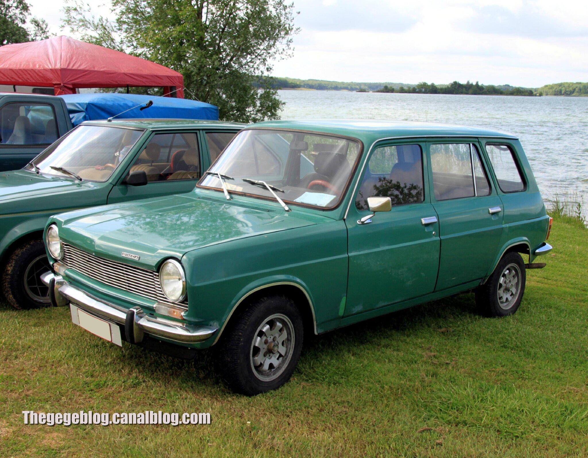 Simca 1100 break de 1975 (Retro Meus Auto Madine 2012) 01