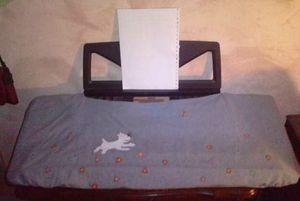 peinture tissu jean