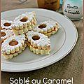 Sablé caramel beurre salé