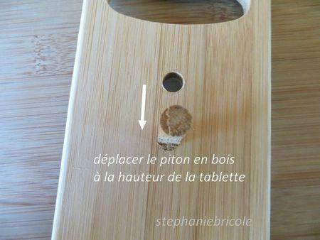 diy récup - porte planches à découper en bambou 3