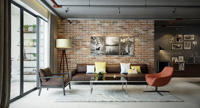 exposed-brick-living-room