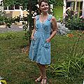 Robe d'été #1 : quand la princesse joue à la fermière
