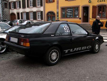 RENAULT Fuego Turbo 1983 1985 Criterium de la Vallee de la Bruche Amedee Gordini 2010 2