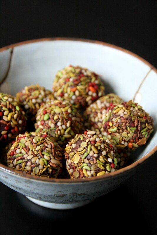 truffes épices indiennes 3
