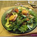 Salade, de chèvre et bécassine....