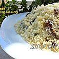 Masfouf b degla/ couscous sucre aux dattes/cuisine facile